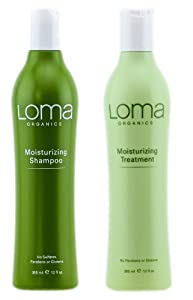 Moisturizing Shampoo and Treatment 12oz (DUO PACK) by LOMA® - Factory Fresh with E-Commerce Authenticity Label!