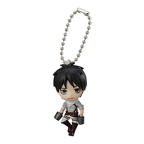 Bandai Attack On Titan Figure Swing Keychain Part 2~Eren yeager