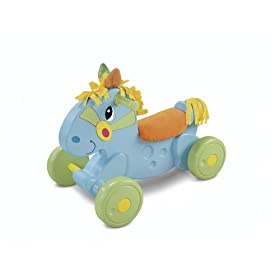 Fisher-Price Lights and Sounds Trike Rock and Go Pony