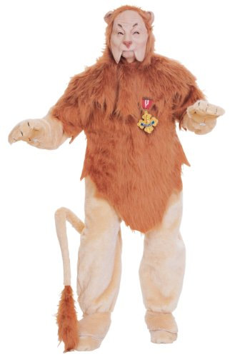 Deluxe Cowardly Lion (Standard) Wizard Of Oz Halloween Costume