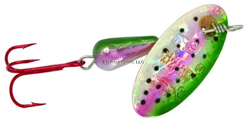 Panther Martin 1PMHRH-RTH Holograph Rainbow Trout Hook, 1/32-Ounce, Fire Red