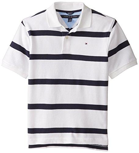 Tommy Hilfiger Big Boys' Clubhouse Stripe Polo
