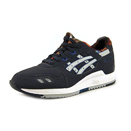 ASICS Women's Gel-Lyte III Fashion Sneaker,Dark Grey/Soft Grey,9 M US