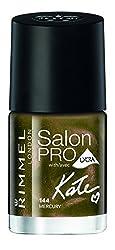 Rimmel Salon Pro with Lycra By Kate Nail Polish, 144 Mercury, 0.4 Fluid Ounce
