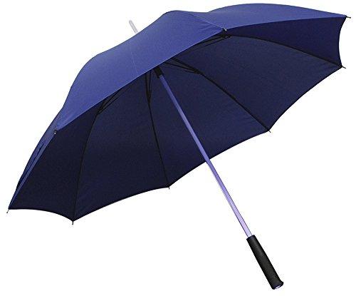光る傘 レインボーフラッシュLED傘 60cm 大人用 ブルー LEDUmbrella_BL