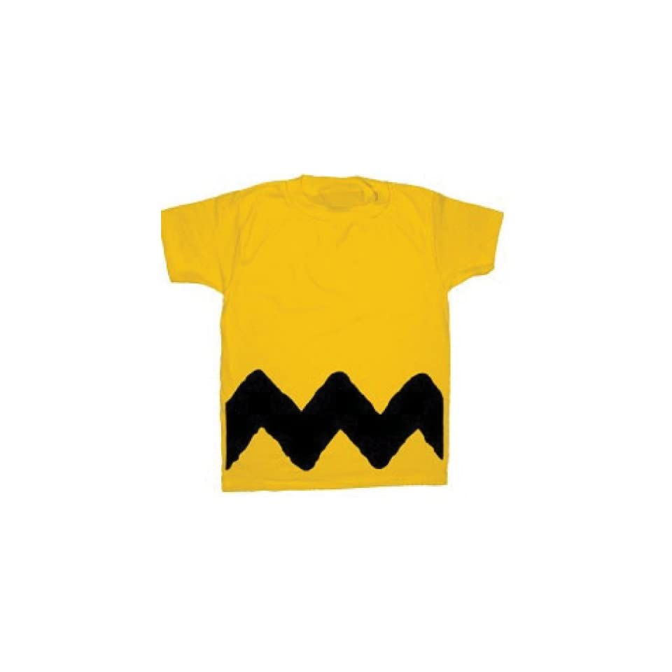 Peanuts Charlie Brown Zig Zag Stripe Shirt