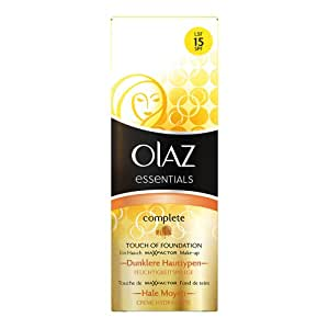 Olaz Complete BB Cream Touch of Foundation mit LSF 15, dunklere Hauttypen, 50ml