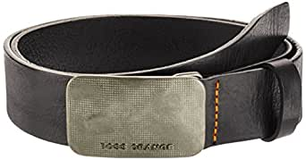 BOSS Orange Jennos - Ceinture - Uni - Homme - Noir (Schwarz) - FR: 95 cm (Taille fabricant: 95)