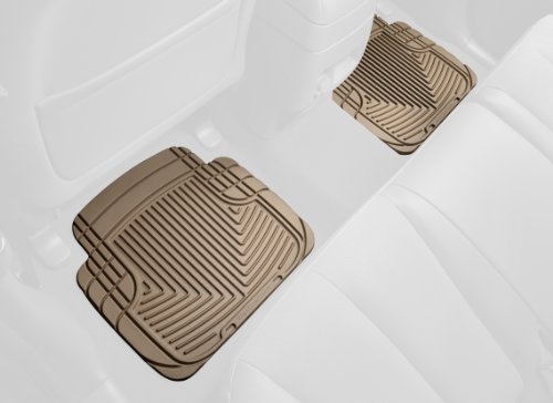WeatherTech All-Weather Trim to Fit Rear Rubber Mats (Tan) (Weathertech Floor Mats Volvo S40 compare prices)