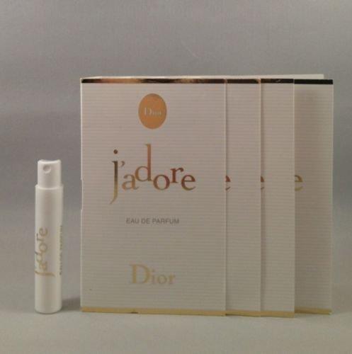 Christian Dior discount duty free 4 Dior J'adore Eau De Parfum 1 Ml/0.03 Oz Each Spray Sample Vial for Women