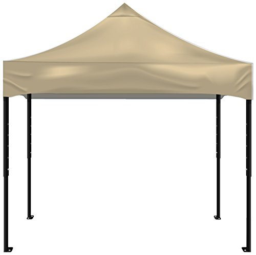 Kd Kanopy Psk100C Party Shade Steel Frame Indoor/Outdoor Portable Canopy, 5 By 5-Feet, Cream
