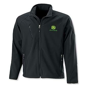 John Deere Jacket Textured Soft Shell At Amazon Men S