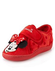 Minnie Mouse Bow Slippers