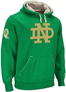 Notre Dame Fighting Irish Green adidas Homecoming Hooded Sweatshirt (Small)