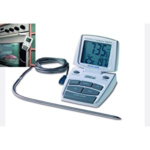 TFA Digital Cooking Thermo-Timer, White