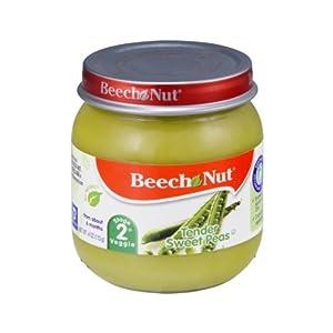 Beech Nut Stage 2 Tender Sweet Peas