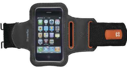 XtremeMac iPhone 4/3G/3GS/iPod touch用  スタイリッシュ アームバンド Sportwrapシリーズ IPP-SWP-13J
