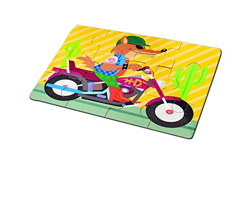 Kids Preferred Buildex Harley Davidson Wooden Puzzle Set