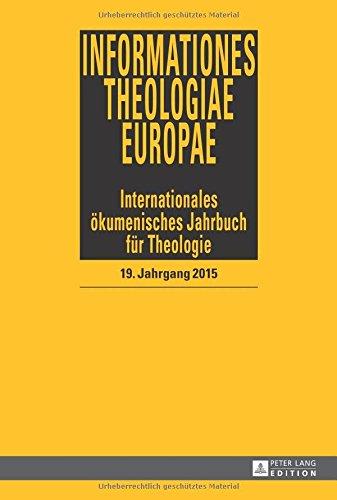 Informationes Theologiae Europae (German Edition)