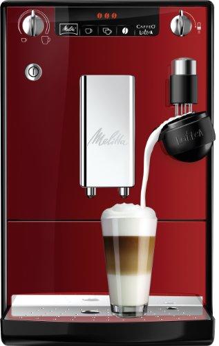 Melitta E 955-102 Kaffeevollautomat Caffeo lattea rot / schwarz