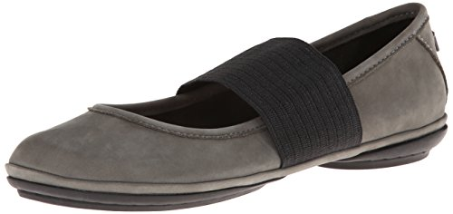 Camper Right Nina - Ballerine Donna, Grigio (Dark Gray 039), 39