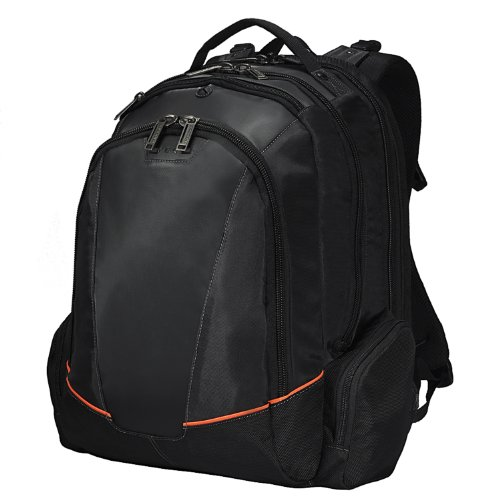 EVERKI 95321-GB Flight Backpack for 16 inch Laptop - Black