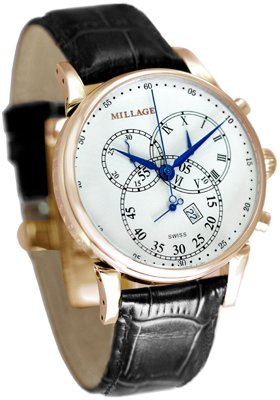 Millage Hampton Cream on Rose Gold