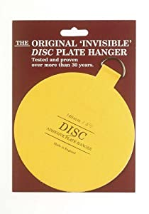 Invisible English Plate Hanger Disc-5.5 Inch (For Plates up to 6.5 Lbs.)