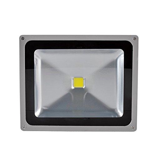 WIDEN ELECTRIC 50W LED Projecteur Lampe de LED Exterieur Lampe Blanc Froid 6500K IP65 LED Spot Lampe du Jardin (6pcs 50w)