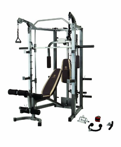Marcy Combo Smith Machine - Home Gym Equipment (Machine Home Gym compare prices)