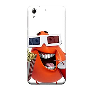 iCover Premium Printed Mobile Back Case Cover With Full protection For HTC 728 (Designer Case)