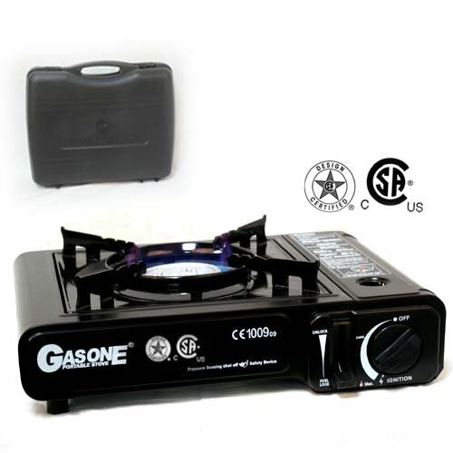 Deluxe Portable Gas Stove CSA Approved With Free Carry Case