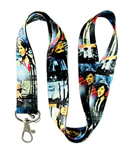 ONE Direction Rock Band 2012 BLUE DESIGN Lanyard Keychain Holder for MP3, Cellphones from Micheal Sugar
