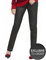 Twiggy for M&S Collection Coated Jeggings
