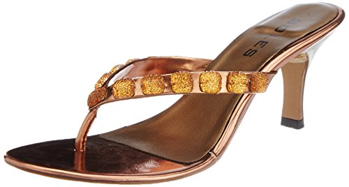 Fashion Soles Women's Fashion Sandals (Brown)