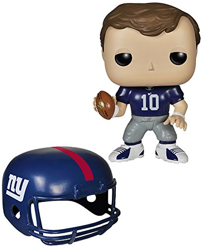 Funko POP NFL: Wave 1 - Eli Manning Action Figures