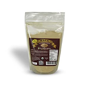 Organic Maca Powder, Gelatinized for Easy Digestion, Satisfaction Guaranteed.