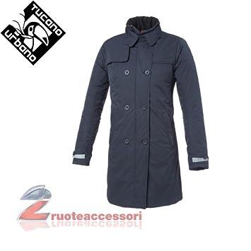 Tucano urbano 8914WF002B7 sERISSA-respirant, coupe-vent et étanche double women's-boutonnière simple padded veste pour femme-bleu-taille xXL