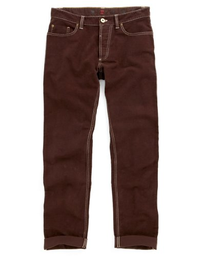 Joules Men's Slaithwaite Slim Fit Moleskin Trousers - Brown N_SLAITHWAITE - 30