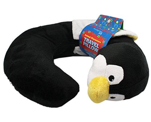 Northpoint Animal Characters Travel Pillow (Penguin) - 1