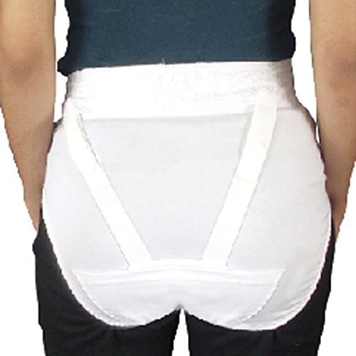 Women's V-Brace Vulvar Vein Genital Prolapse Panty Girdle Brace 6200 6201 (L, Panty ONLY) by Freeman Manufacturing Co. bestellen