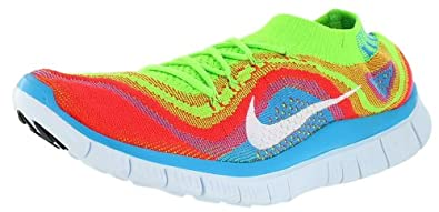 Nike Mens Free Flyknit+ Running Shoes by Nike