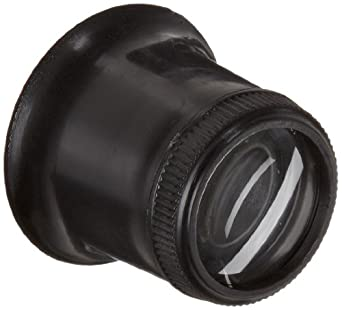 "Donegan V350-2 Jewelers Eye Loupe, 5x Magnification, 2"" Focal Length"