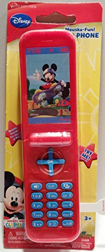 Disney Mickey Mouse Clubhouse Mouska-Fun! Flip Phone - 1