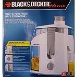 Black & Decker Fruit & Vegetable Juicer Extractor