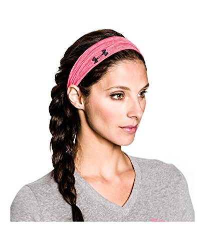 Under Armour Women's Bonded Headband, Black/White, One Size Fits All