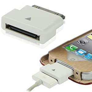 adaptateur extension dock blanc pour iphone 4 3gs ipod touch 3g ipad ipad2 ipad3 prise en. Black Bedroom Furniture Sets. Home Design Ideas