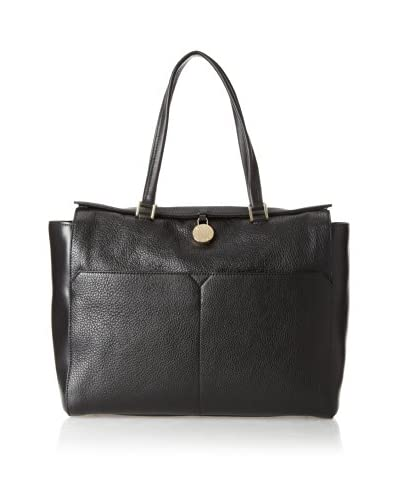 Furla Women's Ginevra Middle East/West Tote, Onyx Black