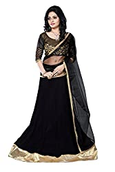 JIYA FASHION NEW DESIGNER LEHENGA BLACK
