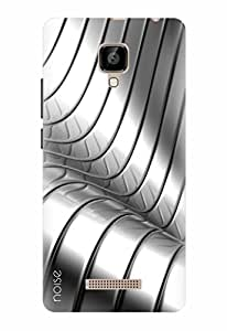 Noise Designer Printed Case / Cover for Lava A48 / Patterns & Ethnic / Steel Tunnel